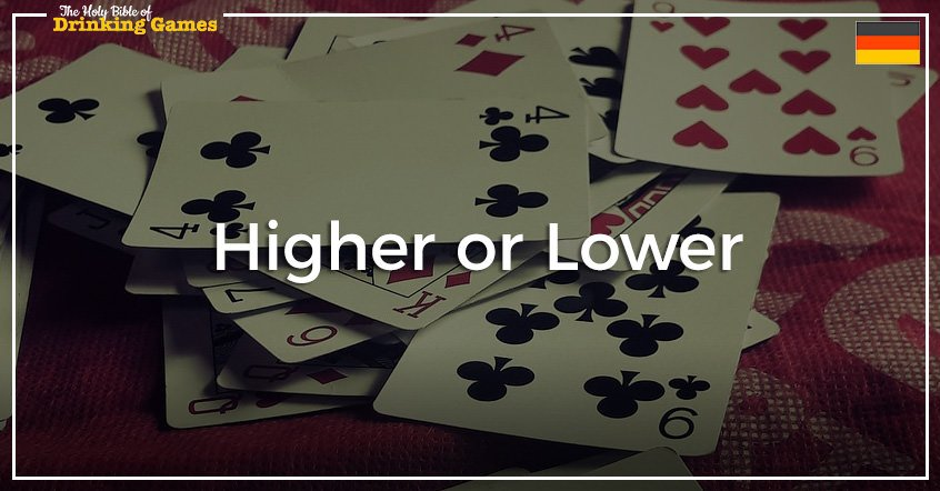 Higher or Lower Drinking Game