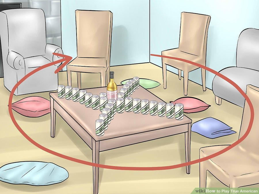 How To Play The True American Drinking Game