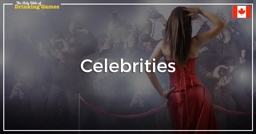 Celebrities Drinking Game